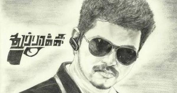 Actor Vijay Drawing Art Drawings Sketches Pencil Celebrity Drawings Pencil Drawings Easy