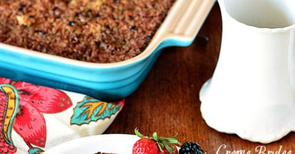 Creme Brulee Baked Oatmeal | Recipe | Creme Brulee, Baked Oatmeal ...