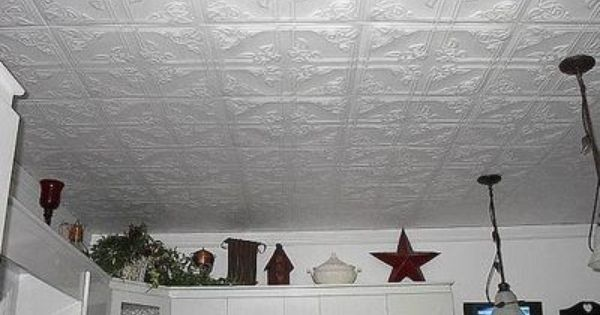 Paintable Wallpaper On Ceiling Or Paintable Ceiling Tiles