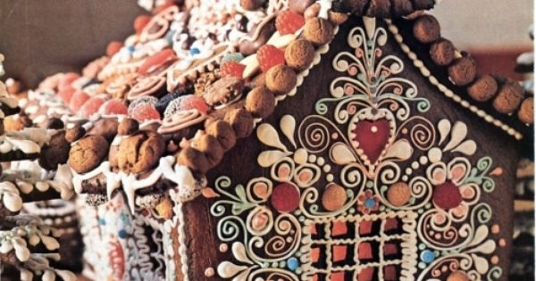 Crafts stalker: Gingerbread house Ideas and inspiration