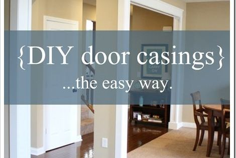 DIY Door Molding and Casings {A Charming Nest} - The Inspired Room