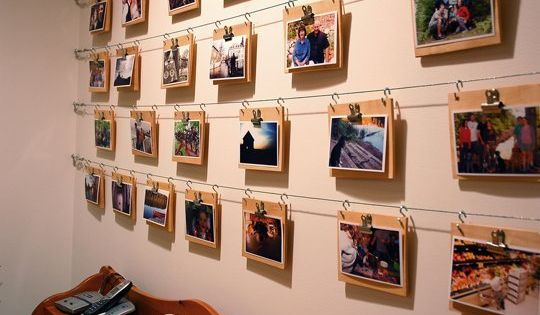 6 Ways To Hang Photos Without Using Nails Artworks