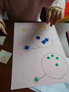 Vers L Autonomie Avec Montessori Activites Enfants 2ans Gommette Montessori