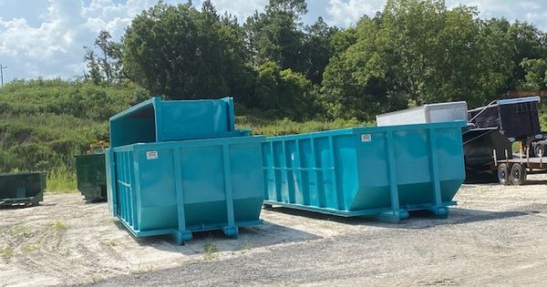 30 Yard Strait Wall Cable Dumpster American Made Dumpsters In 2020 Dumpsters Dumpster Yard