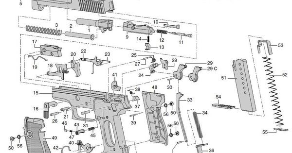 sig sauer p225 disassembly