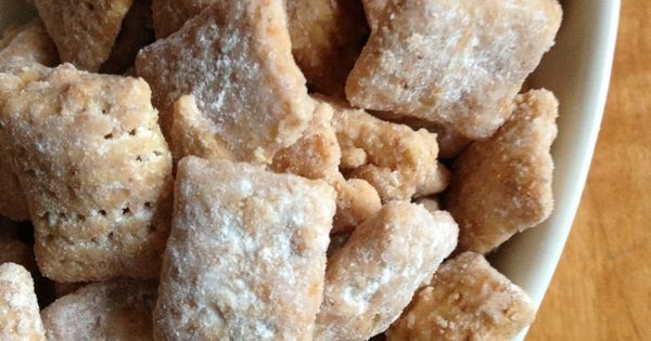 caramel apple puppy chow... I love me some puppy chow!