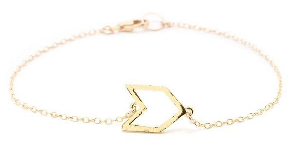 BaubleBar chevron bracelet