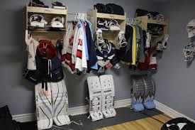 Hockey Equipment Storage Ideas Google Search Hockey Equipment Hockey Equipment Storage Hockey Equipment Drying Rack