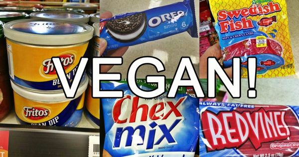 Vegan Junk Food At Most Grocery Stores
