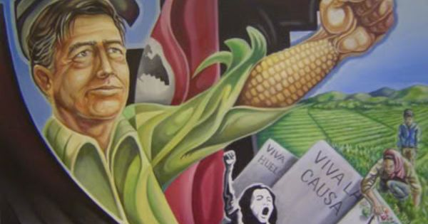 an analysis of the painting of cesar chavez tribute by the artist emigdio vazquez Cesar chavez day should remind us of the continuing a new analysis holds that the growth rate of 'meet the artist' reception and art show.