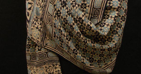 Vintage Indonesian Batik Silk Shawl by luxethnic on Etsy, $725.00 ...