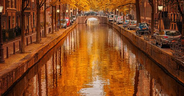 Autumn in Amsterdam, The Netherlands my bucket list is getting bigger and
