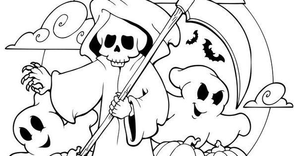 Gruselige Halloween Ausmalbilder Zum Ausdrucken 10
