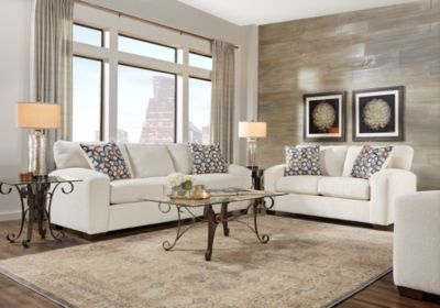 Lucan Cream 5 Pc Living Room Nbsp 999 99 Find Affordable