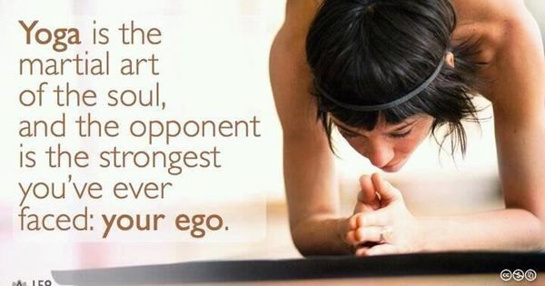 Leave your ego at the door!