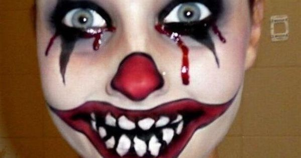 Cool and Scary Makeup Looks for This Halloween This should probably have