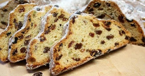 Christmas Breakfast Bread Recipe Stollen Fruit Bread Just Breads