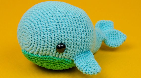 The whale, Amigurumi and Whales on Pinterest