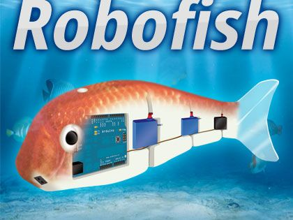 Robofish create your robot fish with arduino