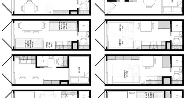 8x20 shipping container floor plans. | Container houses ...