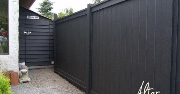 Before After Elke S Greenhouse Teardown Black Fence Backyard
