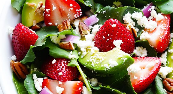 how to make a beautiful tossed salad