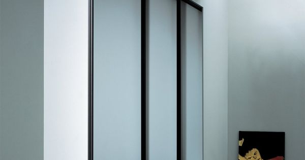 Contemporary glass closet doors closet design for Modern glass pocket doors