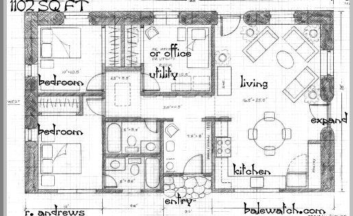 Single Level Rectangular House Plans Google Search