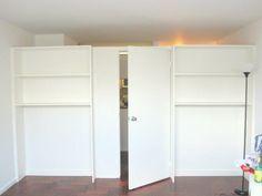 Bookcase Partition Bookshelves Diy Room Divider Walls Diy Room