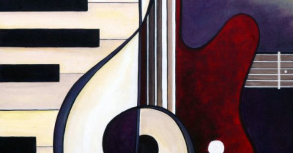 Abstract Music Notes Art: #pianolearningsoftware Abstract Music Piano Paintings
