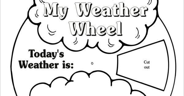 My Weather Wheel: March Monthly Idea Book}
