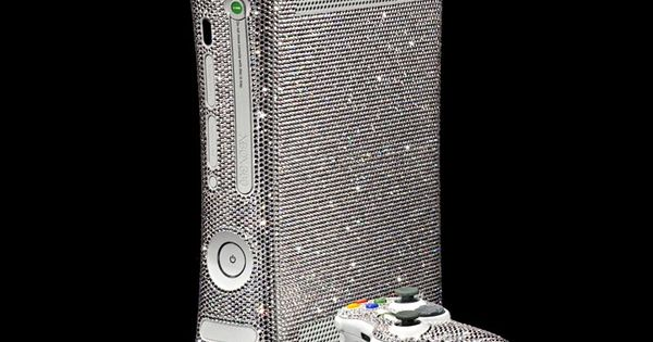 Xbox 360, Xbox and Swarovski crystals on Pinterest