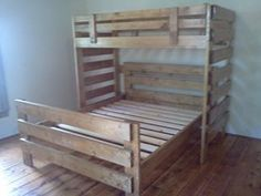Ana White Build A Twin Over Full Simple Bunk Bed Plans Free And Easy Need This For Kids Room But With Queen On Botto Diy Bunk Bed Bunk Bed Plans Kids