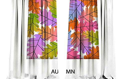 Dragonbuildingmaterials Curtains For Bedroom Autumn Fall Gradient
