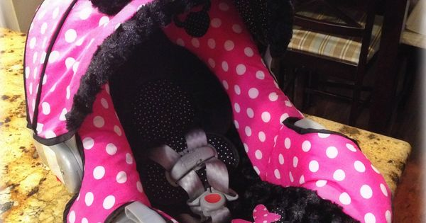 Minnie Mouse Graco Snugride 30 Custom Carseat Cover My