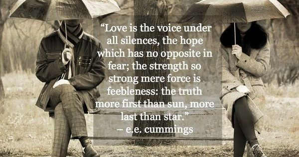 Romanceishope: Love Is The Voice Under All Silences,the Hope Which Has No