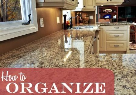 How To Organize And Declutter Your Kitchen Counters