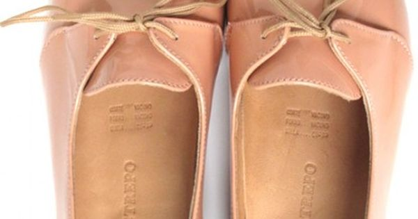 shoes- salmon pink- oxford