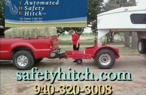 The Automated Safety Hitch Trailer Hitch Gooseneck Horse