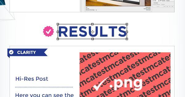 Designing Facebook image posts in Photoshop SocialMedia infographic / Diseñando post-imágenes para