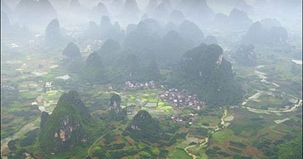 A dreamlike landscape in Yangshuo, China, by Karl Wilson Beautiful Places Photography