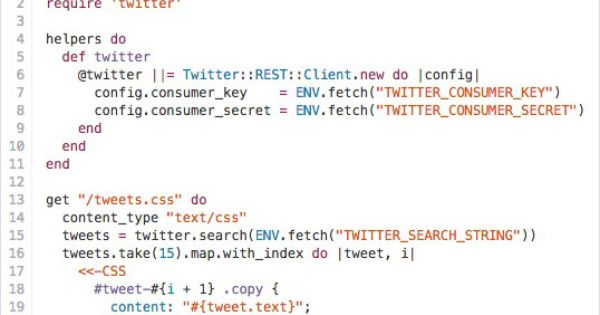 How to Code A Live Dynamic Twitter Feed in HTML Email | Litmus ...