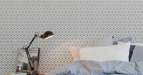 papier peint kube couleur bleu ardoise de la collection au fil des couleurs panoramiques vol 1. Black Bedroom Furniture Sets. Home Design Ideas