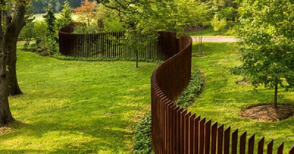 Backyard fence decorating ideas uk