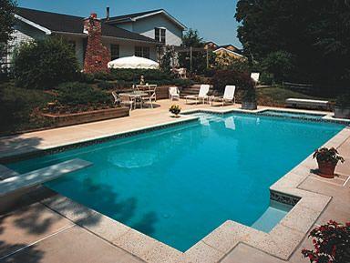 Take A Dip In Your Own Home Swimming Pool Topsdecor Com In 2020 Backyard Pool Parties Garden Swimming Pool Backyard Pool
