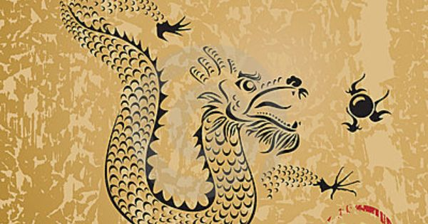 Ancient Chinese Dragon The Dragon In Feng Shui Represents Wealth The Element Water And
