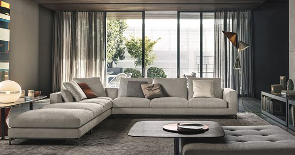 Minotti ipad andersen andersen quilt canapes fr for Living room 983