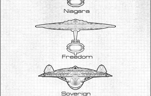 federation starship fleet chart