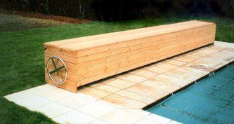 Under Seat Hidden Pool Pool Cover Small Inground Pool