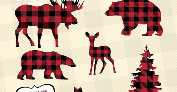 Hello lumberjack theme party! This manly set of clip art ...